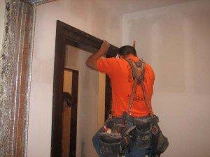 Montaj na interiorni vrati